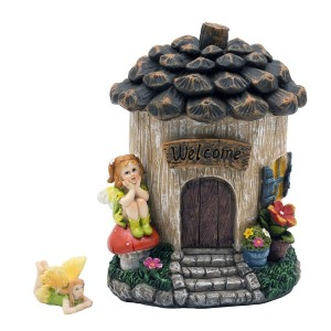 Acorn Fairy House with Accessory