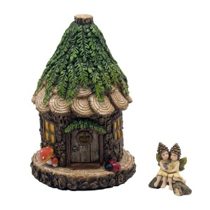 Cuddle Nest Fairy House with Accessory
