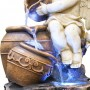 "45"" Tall Lighted Angel Fountain"