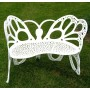 Butterfly Aluminum Bench