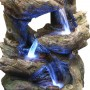 "38"" Tall Multi Tier Rainforest Fountain with LED lights"