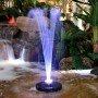 Floating Spray Fountain w/ 48 LED Lights