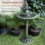 "40"" Tall 2-Tier Floor Fountain w/ Fish"