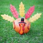 Alpine Metal Pumpkin Leaf Turkey Kit
